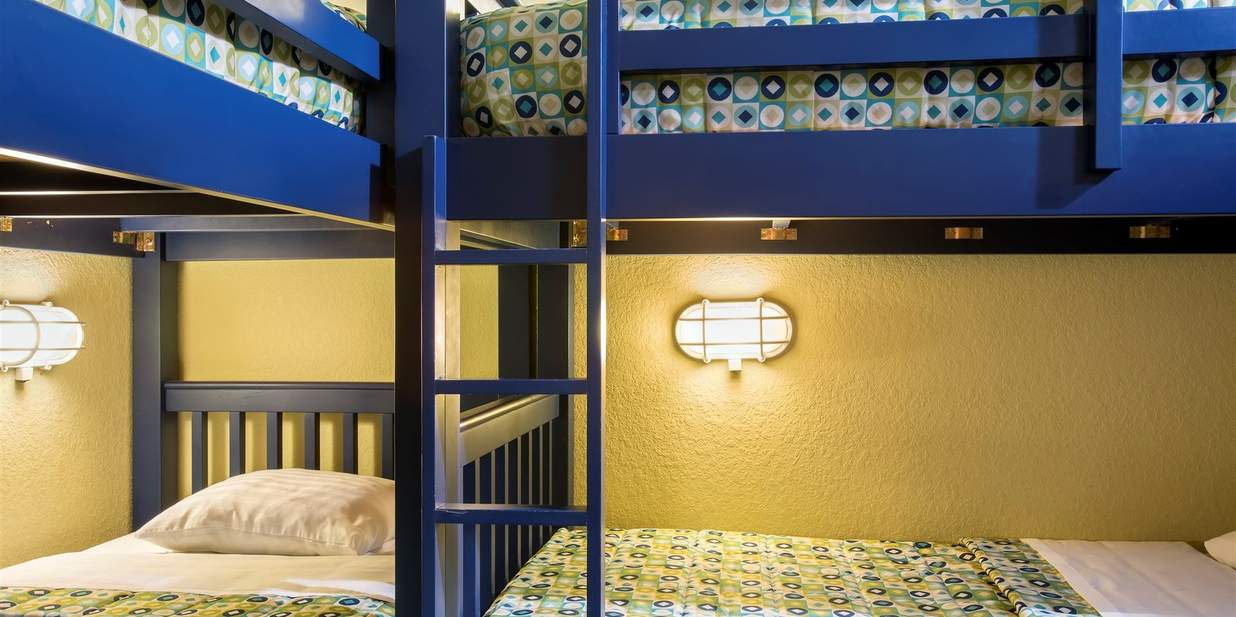 kidsuite with two bunk beds